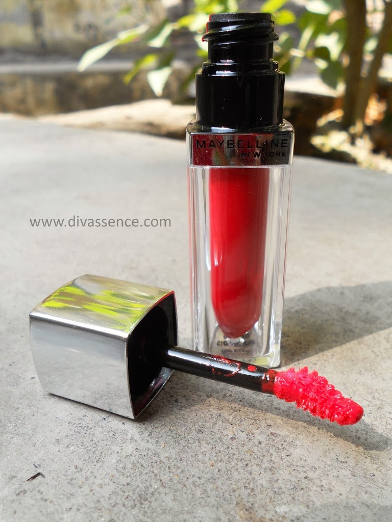 Maybelline Lip Polish Pop 6 : Review / Swatch / LOTD