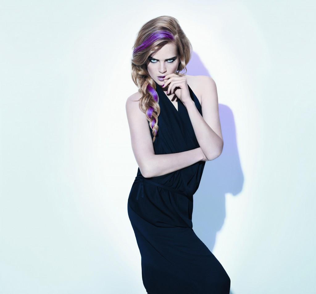 Hairchalk model master pink