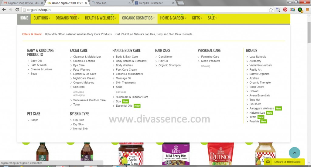 Online organic store of certified branded organic products  Organic Shop - Google Chrome 17-Sep-14 85454 PM.bmp