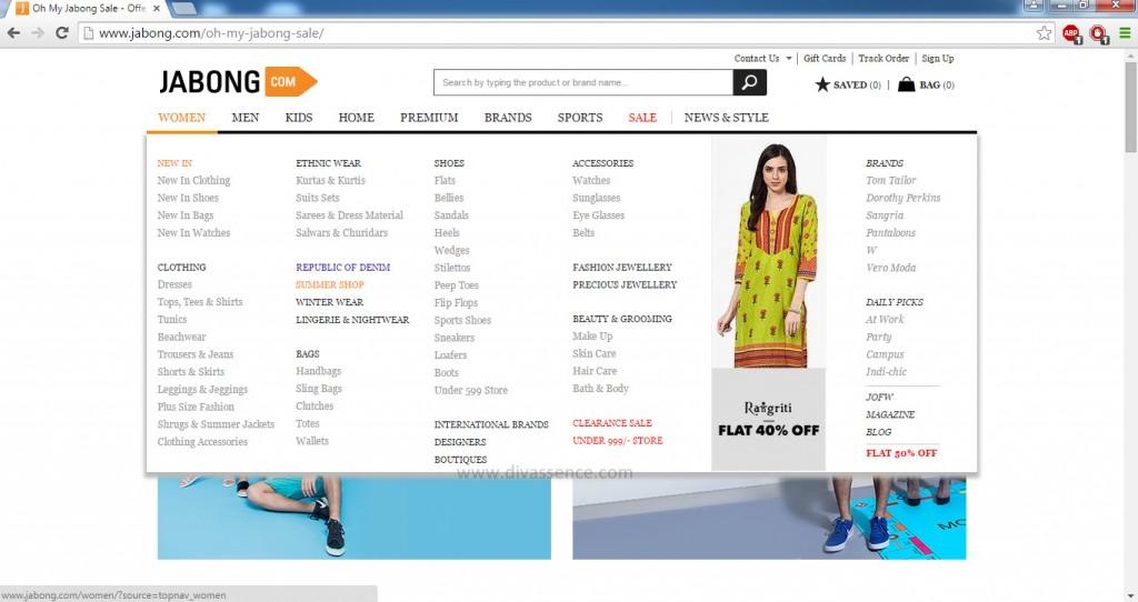 Jabong.com buy online India