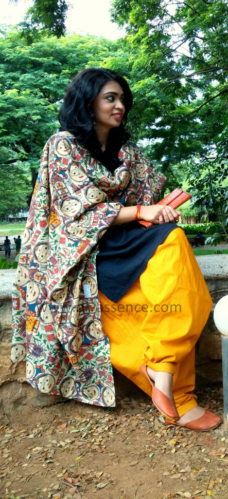 How to style Indian salwar