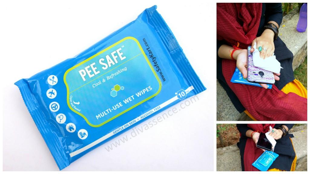 Pee Safe Sanitizer Safetykart.com