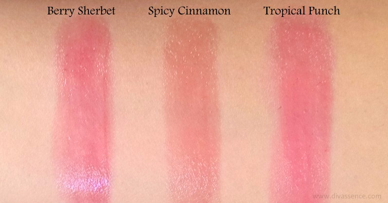 Maybelline Baby Lips Spiced Up Lipbalms Review Swatches