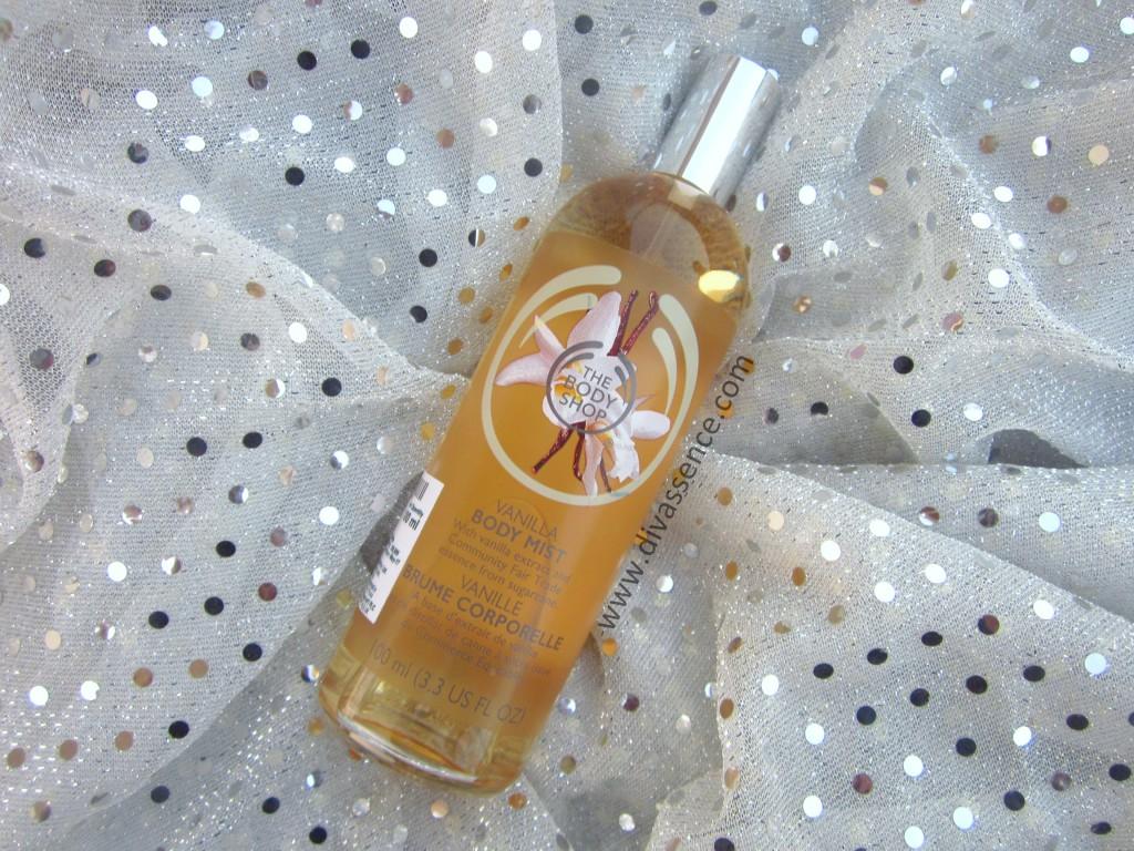 The Body Shop Vanilla Body Mist Haul, Review