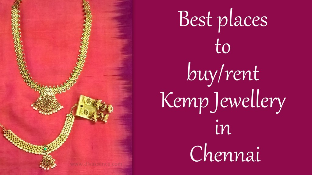 Where to buy, rent bridal kemp jewellery in Chennai