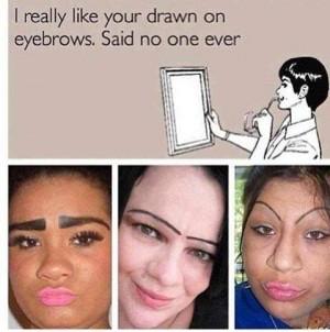 bad eyebrows