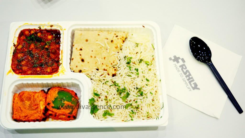 frshly delhi highway meal price review