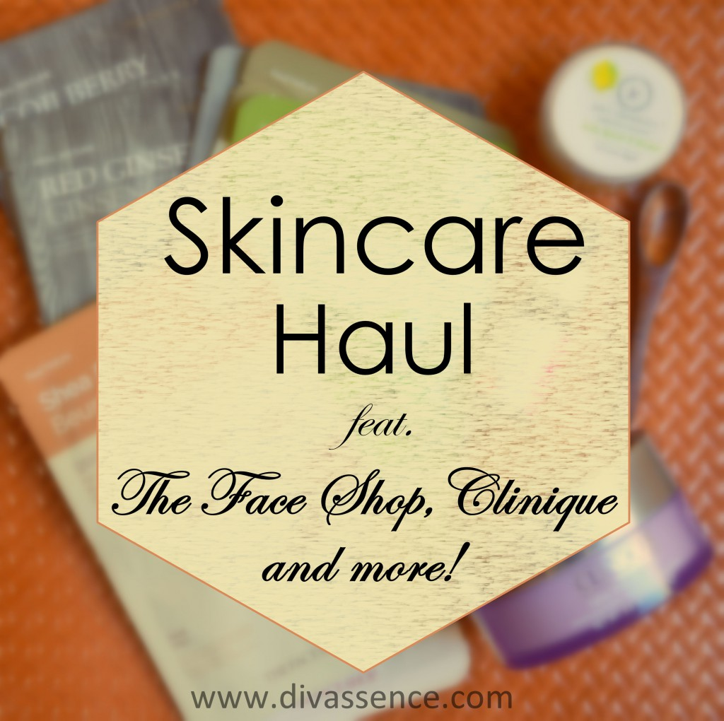 skincare haul - The Face Shop, Clinique Take the Day Off, Juicy Chemistry, best skincare in India, makeup remover